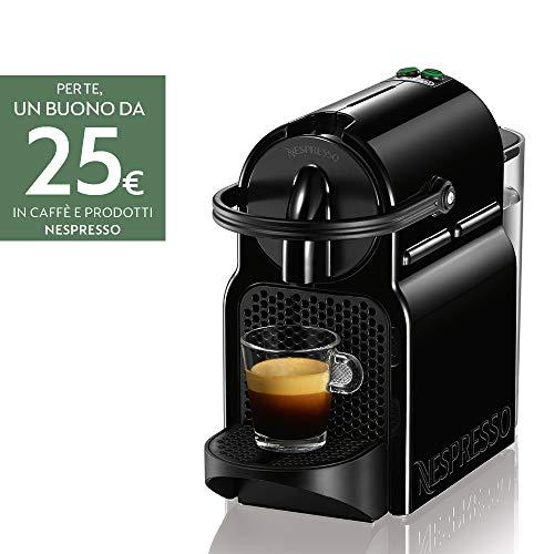Nespresso Inissia EN80.B Macchina per caffè Espresso, 1260 W, 1 Cups, Plastica, Nero (Black)