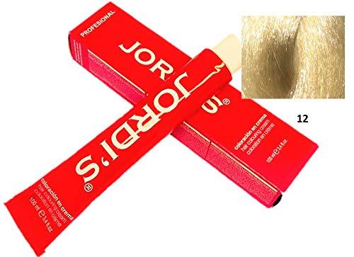 Tintes Profesionales color intenso y brillante - 12- SUPERACLARANTE NATURAL - Coloración en crema 100ml.
