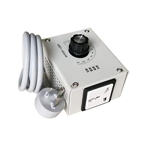 MASUNN 4000W AC 220V Regolatore di Tensione Variabile per La velocit del Ventilatore Motore Dimmer Temperatura