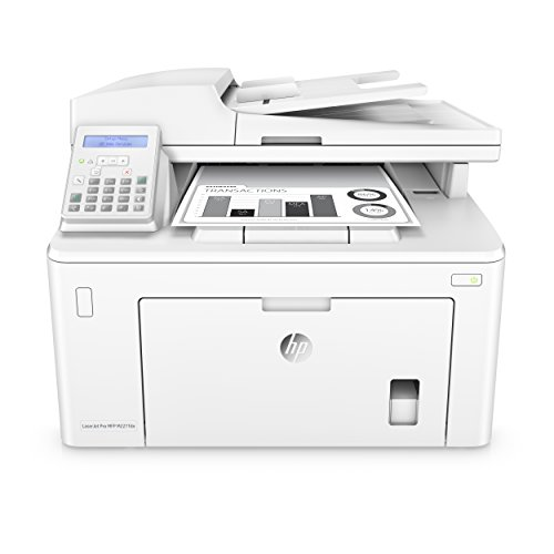 HP LaserJet Pro M227fdn All in One Laser Printer with Print Security, Amazon Dash Replenishment ready (G3Q79A),White,Normal