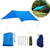 Buycitky Camping bâche imperméable Ripstop Rain Tarp...