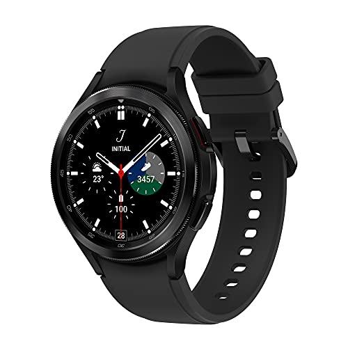Samsung Galaxy℗ Watch4 Classic – Smartwatch, Bisel Giratorio, Control de Salud, Seguimiento Deportivo, Bluetooth, 42 mm, Color Negro (Version ES)