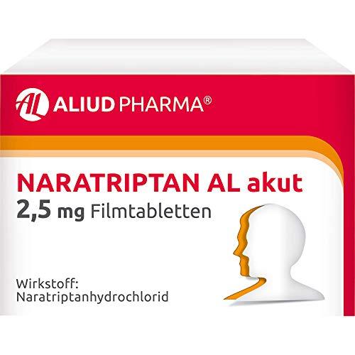 Naratriptan AL akut 2,5 mg Filmtabletten, 2 St. Tabletten