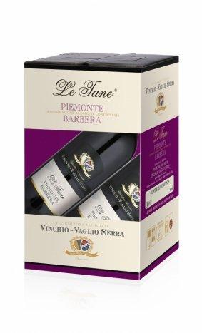 Bag in Box Vinchio Vaglio Serra Le Tane Piemonte Barbera da 10 lt.