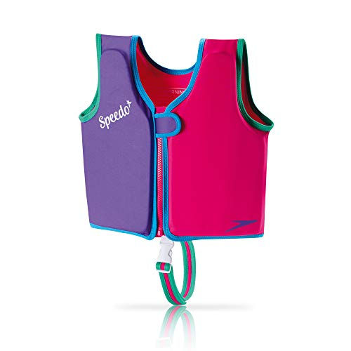 Speedo Unisex-Child Swim Flotation Classic Life Vest Begin to Swim UPF 50