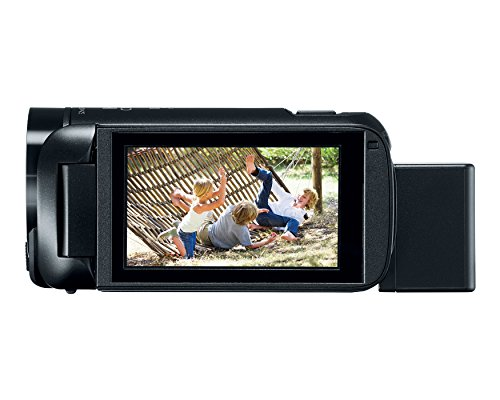 Product Image 3: Canon VIXIA HF R800 Portable Video Camera Camcorder with Audio Input(Microphone), 3.0-Inch Touch Panel LCD, Digic DV 4 Image Processor, 57x Advanced Zoom, and Full HD CMOS Sensor, Black