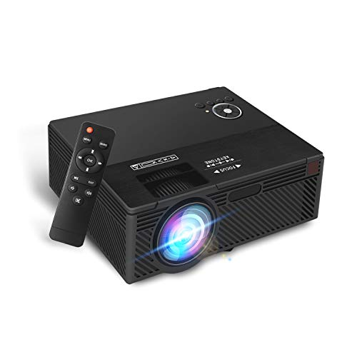 Aoxun A1 Native 720P Portable Home Theater LCD HD Video Projector