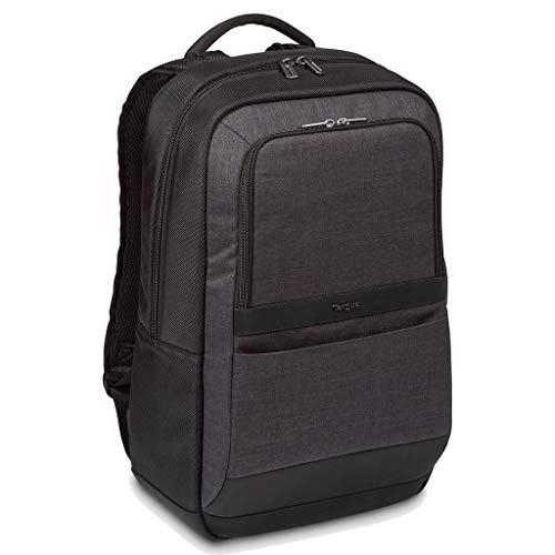 Targus CitySmart 12.5 13 13.3 14 15 15.6\' Essential Laptop Backpack Zaino Casual, 47 cm, 20 liters, Multicolore (Noir Et Gris)