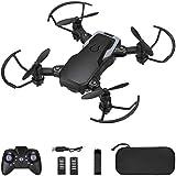 Powerextra Mini Drone con Fotocamera 3 x Batterie per...