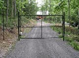 Deer Fence USA 14' Wide x 7' High Driveway Gate Kit