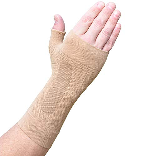 Orthosleeve WS6 a compressione graduata - Tutore per il polso allevia il dolore del tunnel carpale,...