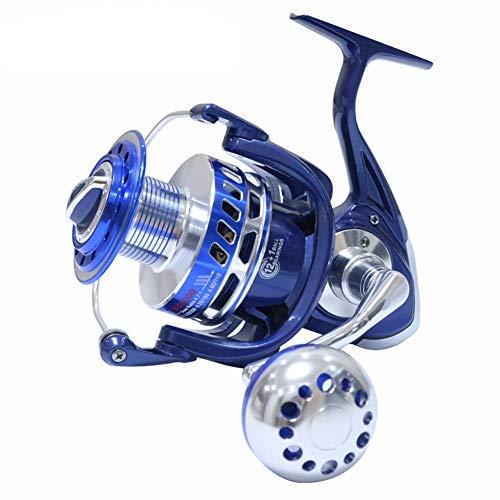 Mele Saltiga Spinning Bobine 30KG 6000 7000 8000 9000 10000 Heavy Duty Mare Pesca Barca Pesca Jigging Pesca Reel Drag,Blue,MX7000
