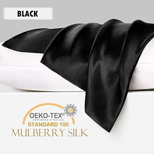 YANIBEST Silk Pillowcase for Hair and Skin - 600 Thread...