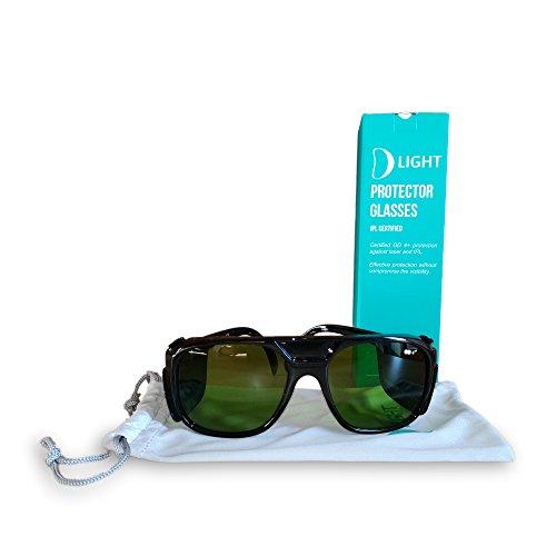 D Light occhiali protettivi certificati per Luce Pulsata