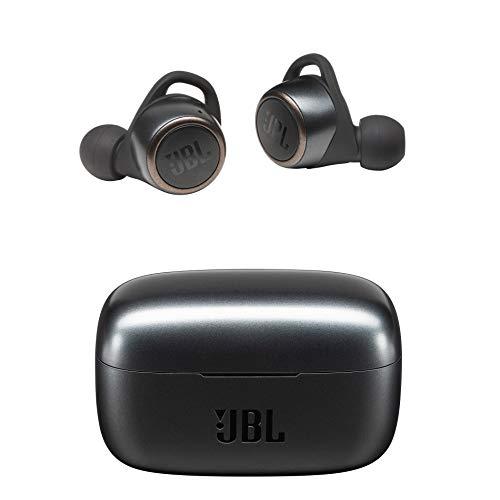 JBL LIVE300TWS 完全ワイヤレスイヤホン アプリ対応/IPX5/Bluetooth対応/タッチ操作/ボイスアシスタント機能対応/ブラック【国内正規品/メーカー 付き】