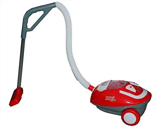 Brigamo ✬ Elektrischer Staubsauger Kinder Staubsauger mit Funktion, Kinderspielzeug Staubsauger mit Sound ✬