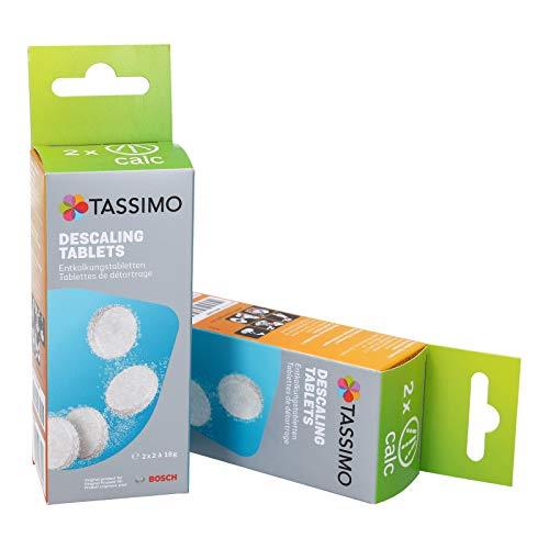 PACK AHORRO Pastillas Bosch de Limpieza y Descalcificación para Cafeteras TASSIMO