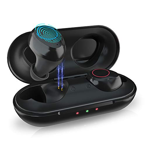 LIFEBEE Auricolari Bluetooth Senza Fili TWS Cuffie 5.0 Riduzione del Rumore Wireless Hi-Fi Stereo Senza Fili Sportivi in Ear Auricolare Bluetooth Mini Cuffie per iPhone iPad Samsung Huawei