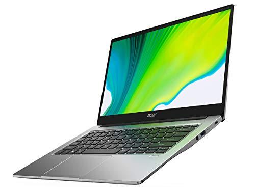 Acer Swift 3 SF314-42 Light Laptop, 14in FHD IPS, AMD Ryzen 5 4500U Six Core Processor with Radeon Graphics, 8GB LPDDR4, 512GB NVMe SSD, WiFi 6, Backlit Keyboard, Fingerprint Reader (Renewed)