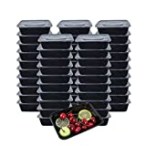 [Lot de 50] 750ml Meal Prep Containers Reutilisable 1...