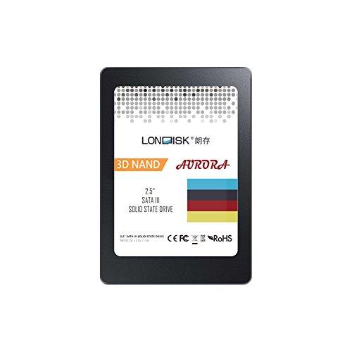 LONDISK 2,5 pouce SSD 240GB interne SSD disque dur Solid State disques SATA 3,0 7mm SSD 2,5 interne lecteur pour gamer DIY PC/ordinateur portable/ordinateur (240GB SSD Drive)