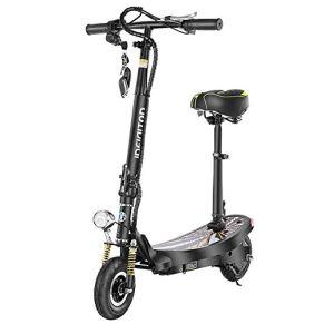 Maxiaoyun Scooter eléctrico Ajustable 6-10 kilómetro de Largo Alcance Diseño portátil Plegable Tráfico motorizado Vespa…