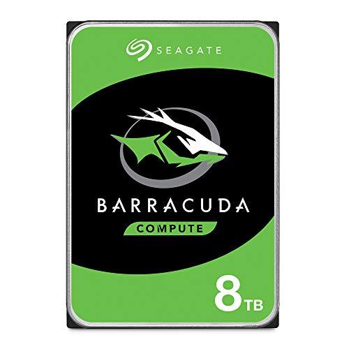Seagate Barracuda 8TB 8000GB Serial ATA III internal hard drive (3.5', 8000 GB, 5400 RPM, Serial ATA...