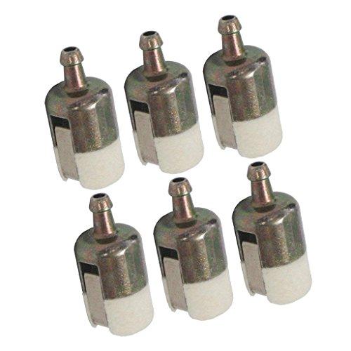 non-brand Sharplace 6 Pcs Kit Di Filtro Carburante Motosega Ricambio 125-527 125-527-1 Per...