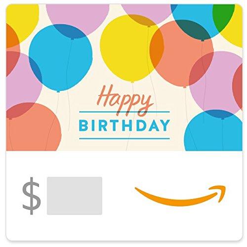 Amazon eGift Card - Happy Birthday Balloons
