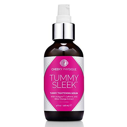 Tummy Sleek Tummy Tightening Serum - Skin Firming & Body Toning Gel for Abs Belly and Waist with Actigym + Caffeine + Bitter Orange Extract - 4 oz. 3