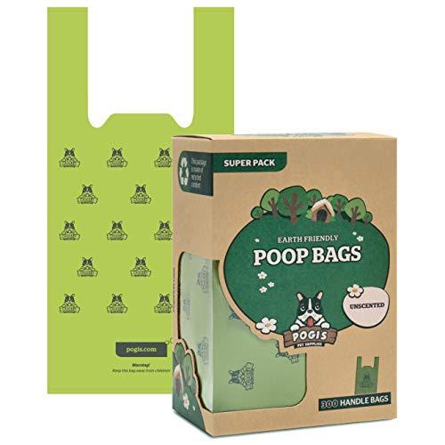 Pogi's Poop Bags - 300 Unscented Dog Poop Bags...