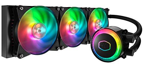 Cooler Master MasterLiquid ML360R RGB Dissipatore CPU a Liquido - Sincronizzazione Illuminazione ARGB, Design Pompa Premium e Tre Ventole MF120R ARGB