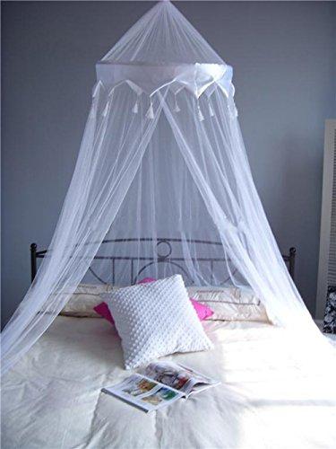 A-Express Moskitonetz Netz Bett Baldachin Mückenschutz für daheim oder für die Reise
