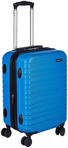 AmazonBasics Hartschalen - Koffer - 55 cm Handgepäckkoffer, Hellblau