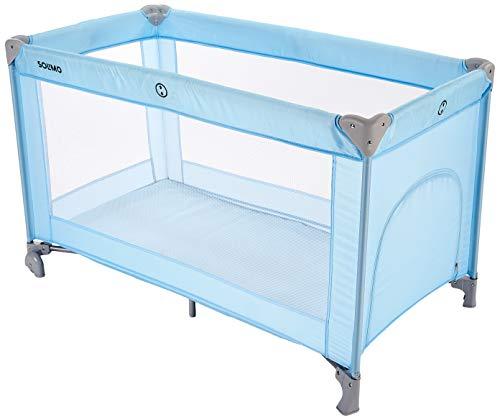 Amazon Brand - Solimo baby Crib/Cot, Blue