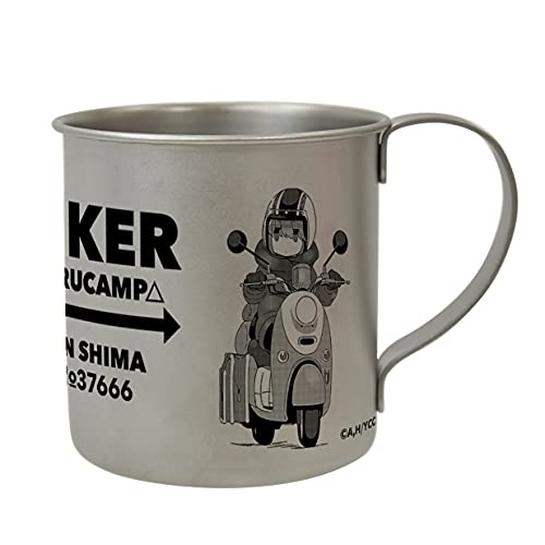 アクロス ゆるキャン△ リン ステンレスマグカップ BIKER