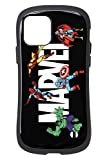 iFace First Class MARVEL iPhone 12/12 Pro ケース [ロゴ/ブラック]
