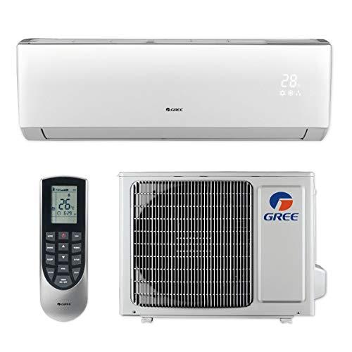 GREE 12,000 BTU 16 SEER LIVO+ Wall Mount Ductless Mini Split Air Conditioner Heat Pump 115V