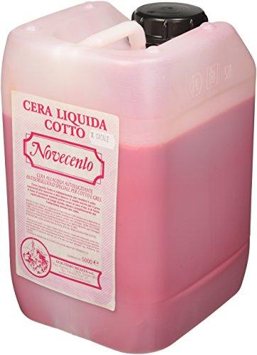 Cera Novecento K923 Cera líquida Cotto, Rojo Casal, 5 litri