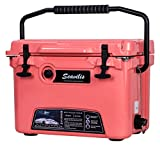 Seavilis Milee-Heavy Duty Cooler 20QT RED (Included $28.0 Accessories) Basket and Cup Holder are Free
