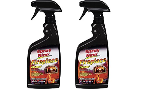 Spray Nine 15022 Fireplace Cleaner, 22 oz. 2 Pack