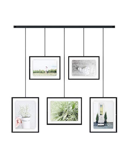 Umbra Exhibit Picture Frame Gallery Set Adjustable Collage...