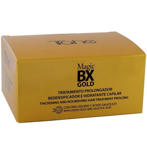 Tahe Magic BX Gold Tratamiento Capilar Redensificador Hidratante Efecto Botox de Larga...