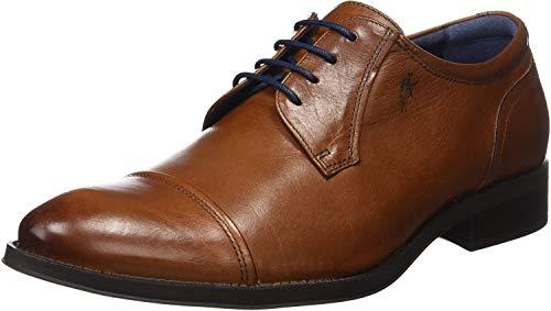 Fluchos Heracles, Zapatos de Cordones Derby para Hombre, Marrón (Cuero 000), 43 EU