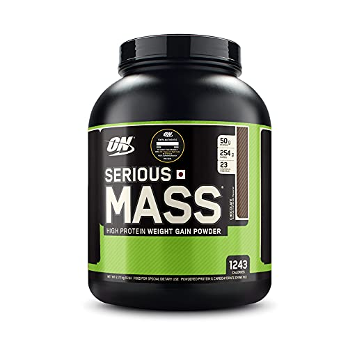 Optimum Nutrition (ON) Serious Mass High Protein and High Calorie Mass Gainer / Weight Gainer Powder...