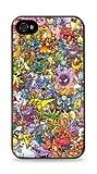 Pokemon Collage Apple iphone 5c Case - Black 636