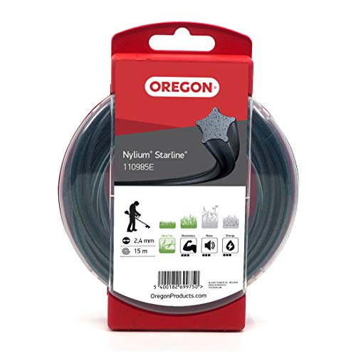 Oregon 110985E Fil en Nylon 2,4 mm x 15 m