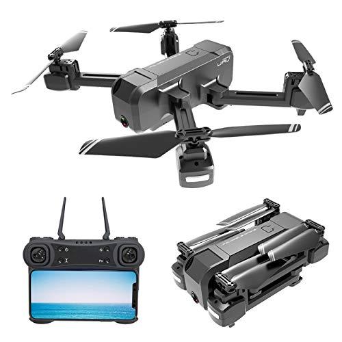 Drone Quadricottero Richiudibile Videocamera Full HD 1080P GPS Giroscopio 6 Assi