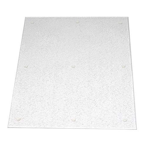 Kitchen Kare Large Acrylic Cutting Board, 15' x 20', Clear