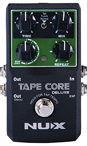 NUX   Tape Core Deluxe Tape Echo Effects Pedal, TAPECDLX